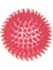 Мяч массажный 10 см прозрачный Crystal ZooOne