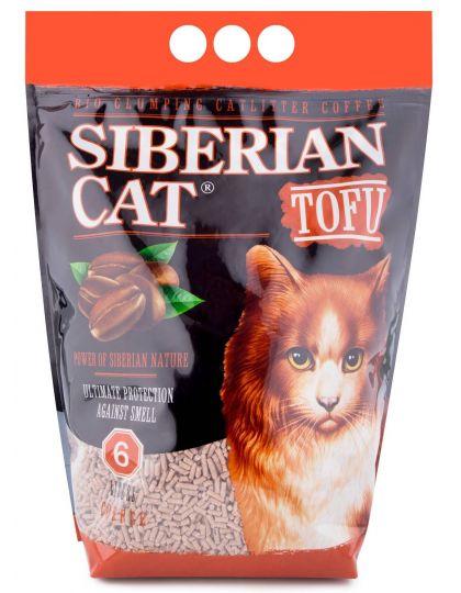 Наполнитель TOFU Кофе растительный комкующийся для кошек