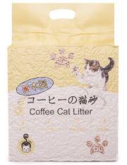 Наполнитель растительный комкующийся, тофу (кофе)
