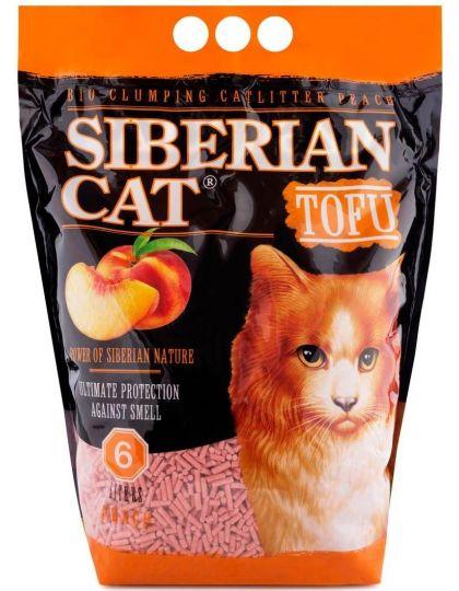 Наполнитель TOFU Персик растительный комкующийся для кошек