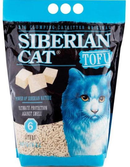 Наполнитель TOFU Оригинальный растительный комкующийся для кошек