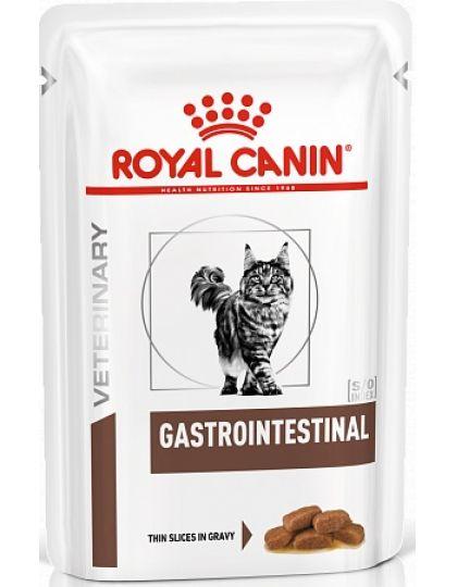 Gastro Intestinal кусочки в соусе (диета) для кошек при нарушении пищеварения