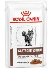 Gastro Intestinal Moderate Calorie кусочки в соусе (диета) для кошек при нарушении пищеварения