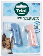 Набор зубных щеток-напальчников 60мм
