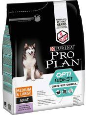 OPTIDIGEST® Grain Free Formula для собак средних и крупных пород с чувствительным пищеварением, индейка