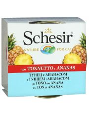 Кусочки в желе тунец с ананасом и рисом