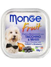 Dog Fruit Нежный паштет из индейки с черникой