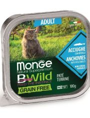 BWild GRAIN FREE беззерновые консервы из анчоусов с овощами