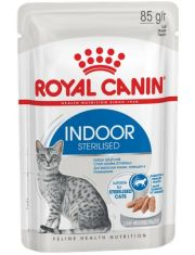 Indoor Sterilized в паштете для кошек постоянно живущих в помещении