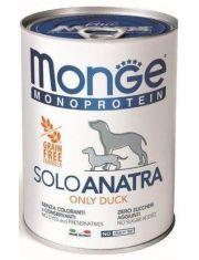 Monoprotein Solo консервы для собак паштет из утки