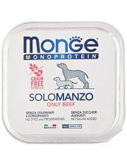 Monoprotein Solo паштет для собак  из говядины