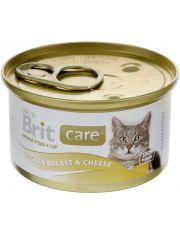 Cat Chicken Breast & Cheese консервы для кошек куриная грудка с сыром в соусе