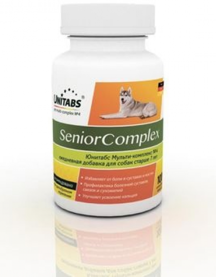 UNITABS Senior Complex витамины для собак старше 7 лет