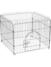 Клетка-вольер для животных, 4 секции, эмаль