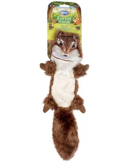 Игрушка для собак Лесной друг Белка, коричневая