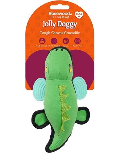 Jolly Doggy Tough Canvas Кроко Игрушка плотный текстиль для собак