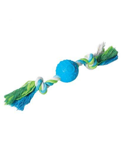 Игрушка для собак Мяч с верёвкой