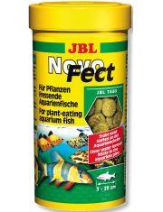 NovoFect  корм в форме таблеток для растительноядных рыб