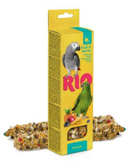 Палочки для попугаев с фруктами и ягодами