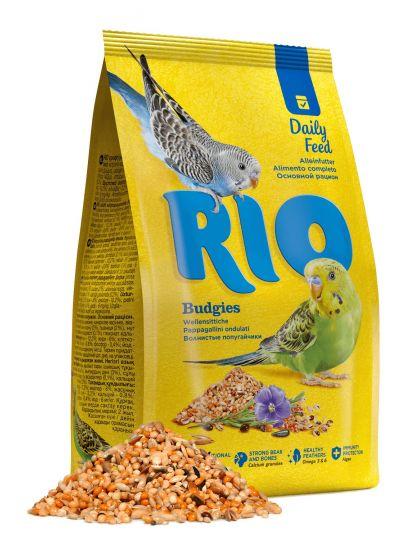 Корм для волнистых попугаев. Основной рацион