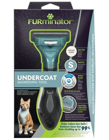 FURminator S для маленьких кошек c короткой шерстью
