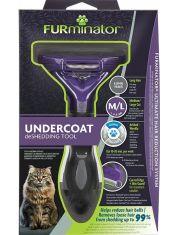 FURminator M/L для больших кошек c длинной шерстью