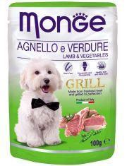 Griil Pouch Agnello e Verdure пауч для взрослых собак, ягненок/овощи