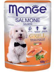 Grill Pouch влажный корм для собак  с лососем