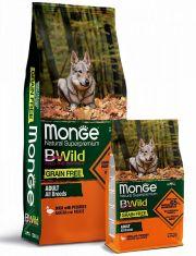 BWild GRAIN FREE беззерновой корм из мяса утки с картофелем для взрослых собак всех пород
