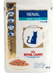 Renal c тунцом (диета) кусочки в соусе для кошек при хронической почечной недостаточности