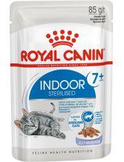 Indoor Sterilized 7+ кусочки в желе для стареющих кошек, постоянно живущих в помещении (в возрасте от 7 до 12 лет)