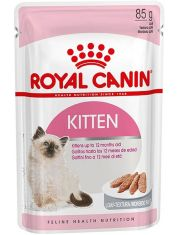 Kitten Instinctive в паштете для котят до 12 месяцев