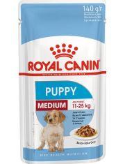 Medium Puppy кусочки в соусе для щенков средних пород до 12 месяцев