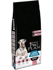 Large Adult Athletic Sensitive Skin для взрослых собак крупных пород атлетического телосложения с чувствительной кожей, с лососем
