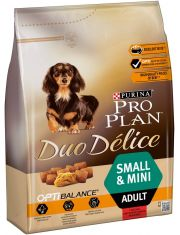 Duo Delice Small & Mini говядина с рисом корм для взрослых собак мелких и карликовых пород