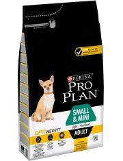 Adult Small & Mini Optiweight Light/Sterilised для склонных к избыточному весу и/или стерилизованных взрослых собак мелких и карликовых пород, курица