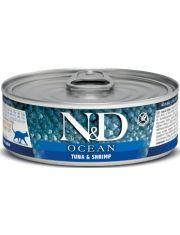N&D OCEAN Tuna & Shrimp беззерновой корм, тунец и креветки