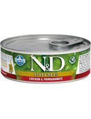 N&D PRIME Chicken & Pomegranate Kitten беззерновой корм с курицей и гранатом, для котят, беременных и кормящих кошек