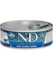 N&D OCEAN Trout, Salmon & Shrimp Adult  беззерновой корм, форель, лосось и креветки