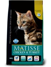 Matisse Chicken & Turkey для взрослых кошек, с курицей и индейкой