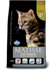 Matisse Neutered для взрослых стерилизованных кошек и кастрированных котов, курица