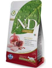 N&D PRIME Chicken & Pomegranate Neutered беззерновой корм, курица, гранат для взрослых стерилизованных кошек