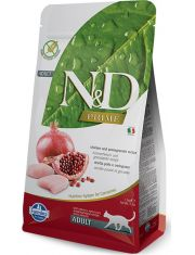 N&D PRIME Chicken & Pomegranate беззерновой корм, курица, гранат, для взрослых кошек
