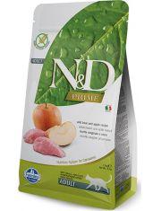 N&D PRIME Boar & Apple беззерновой корм, кабан, яблоко