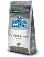 Vet Life Neutered Female (диета) для взрослых стерилизованных кошек