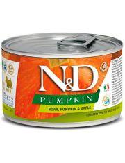 N&D PUMKIN Boar, Pumpkin & Apple Adult Mini беззерновой корм для собак малых пород, кабан, тыква и яблоко