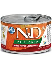 N&D PUMKIN Chicken, Pumpkin & Pomegranate Puppy Mini беззерновой корм для щенков и беременных сук малых пород с тыквой, курицей и гранатом