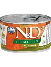 N&D PUMKIN Duck & Pumpkin Adult Mini беззерновой корм для собак мелких пород с уткой и тыквой