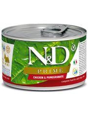 N&D PRIME Chicken & Pomegranate Adult Mini беззерновой корм для взрослых собак малых пород с курицей и гранатом