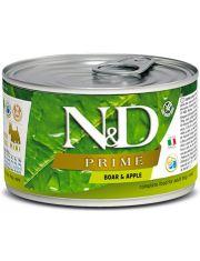 N&D PRIME Boar & Apple Adult Mini беззерновой корм для собак мини пород с кабаном и яблоком